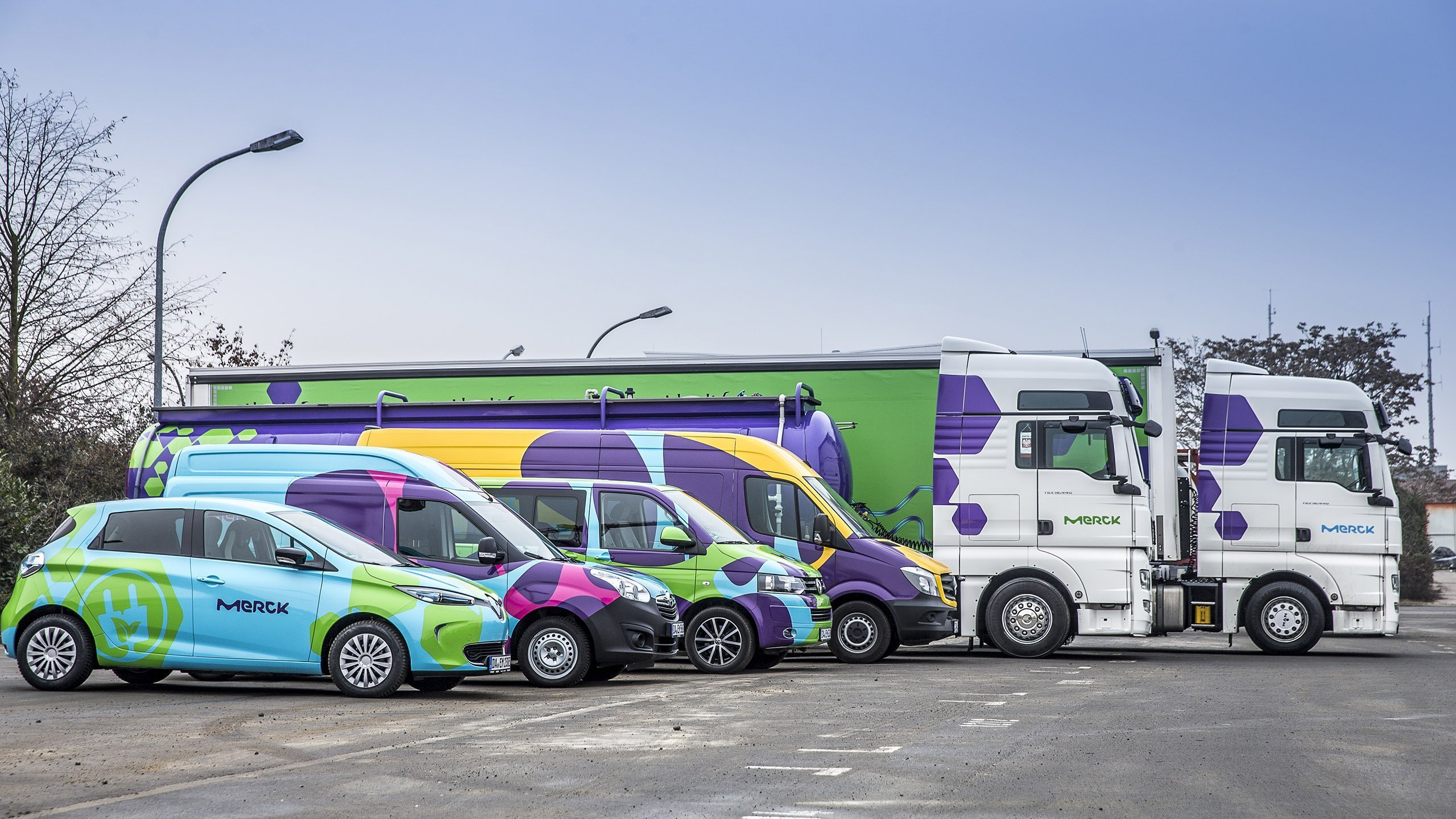 Merck Signage And Fleet Roll Out Vim Group